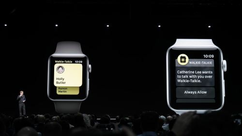 WWDC アップル Apple Watch